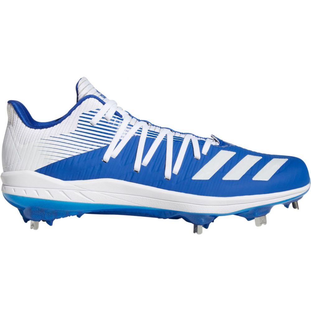 アディダス adidas メンズ 野球 スパイク シューズ・靴【adizero Afterburner 6 Metal Baseball Cleats】Royal/White