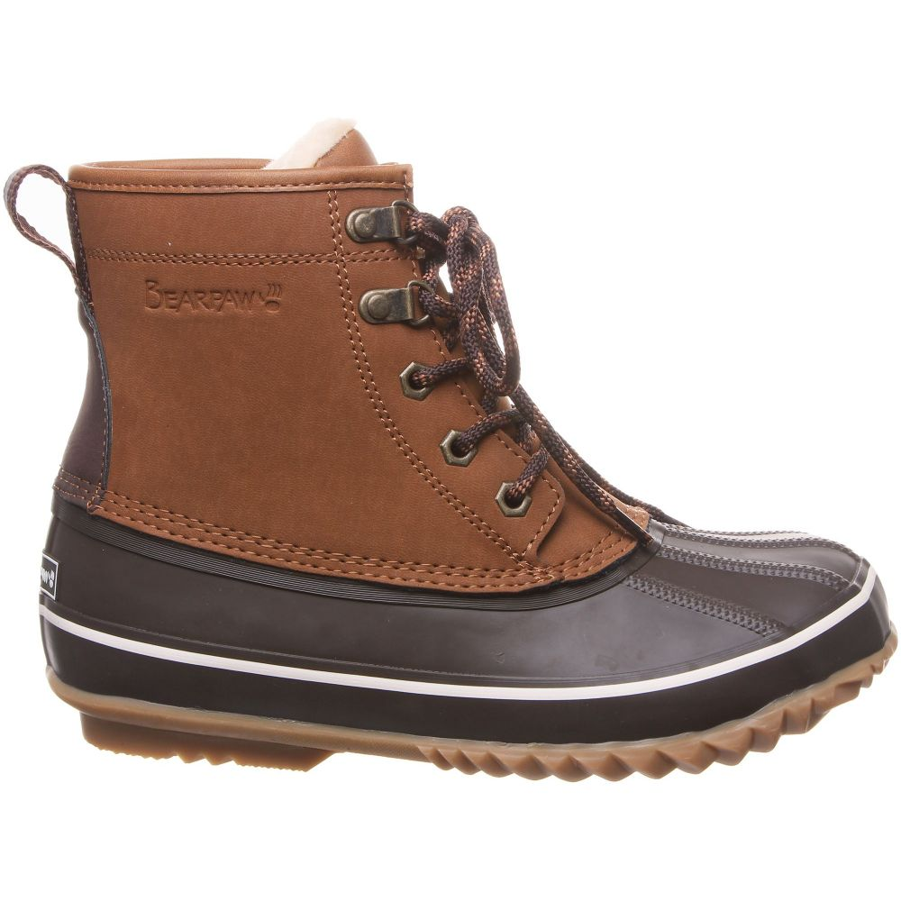 ベアパウ BEARPAW レディース ブーツ ウインターブーツ シューズ・靴【Estelle 200g Waterproof Winter Boots】Hickory