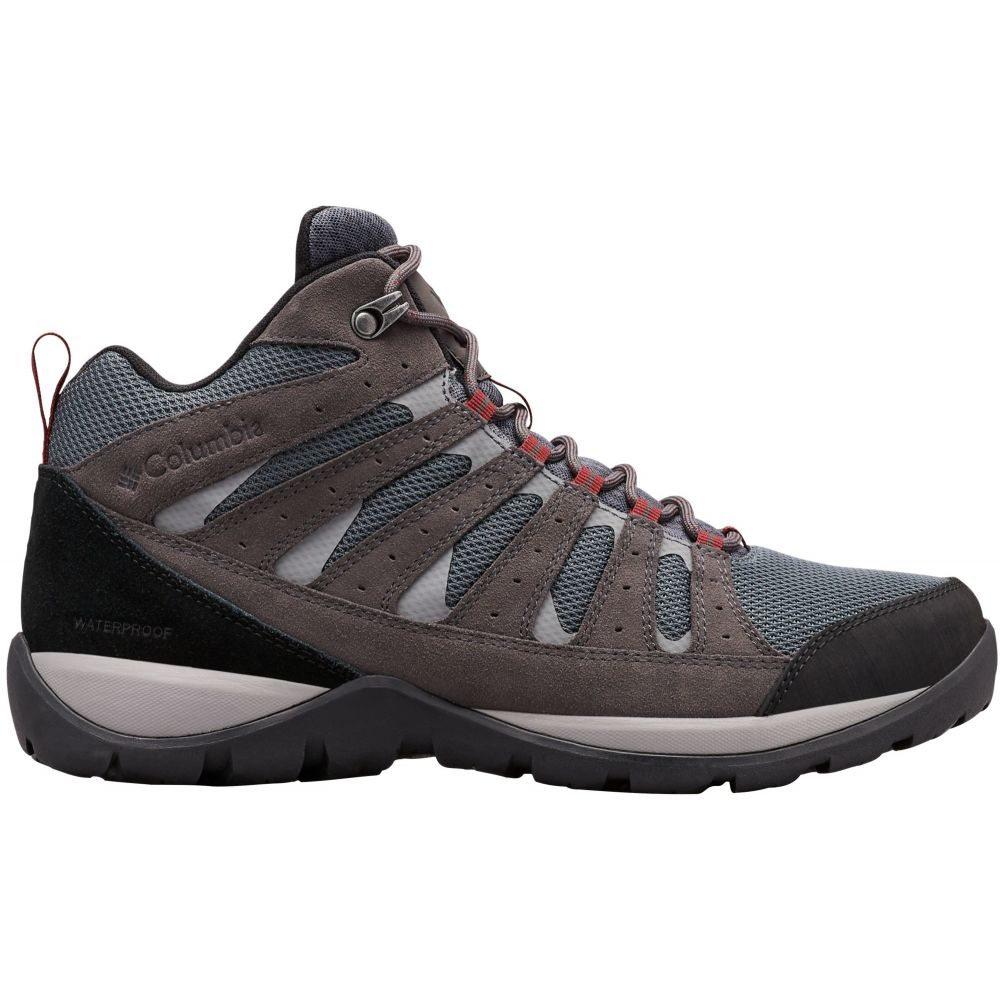 コロンビア Columbia メンズ ハイキング・登山 ブーツ シューズ・靴【Redmond V2 Mid Waterproof Hiking Boots】Graphite/Red