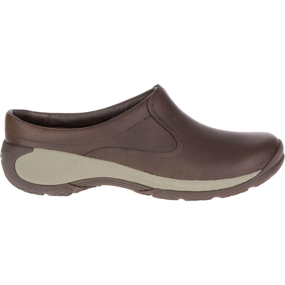 メレル Merrell レディース シューズ・靴 【Encore Q2 Slide Leather Casual Shoes】Espresso
