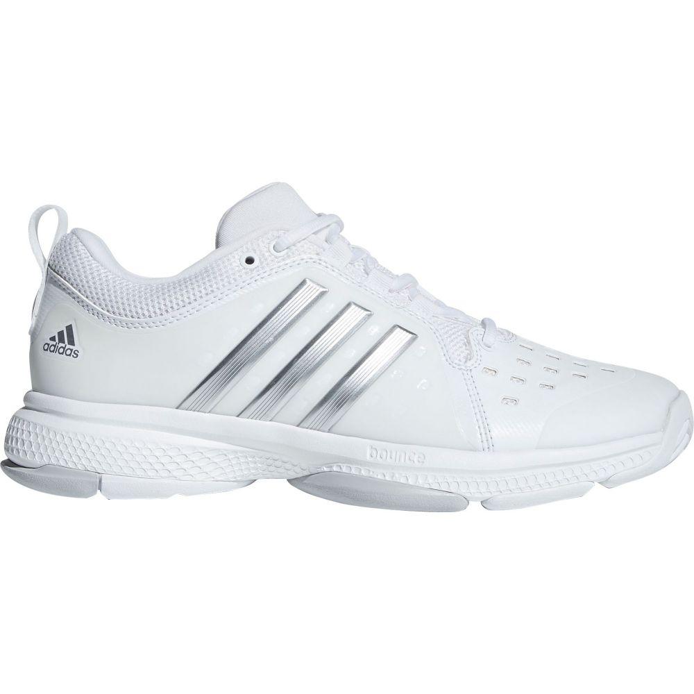 アディダス レディース テニス シューズ・靴 【サイズ交換無料】 アディダス adidas レディース テニス シューズ・靴【Classic Barricade Bounce Tennis Shoes】White/Silver