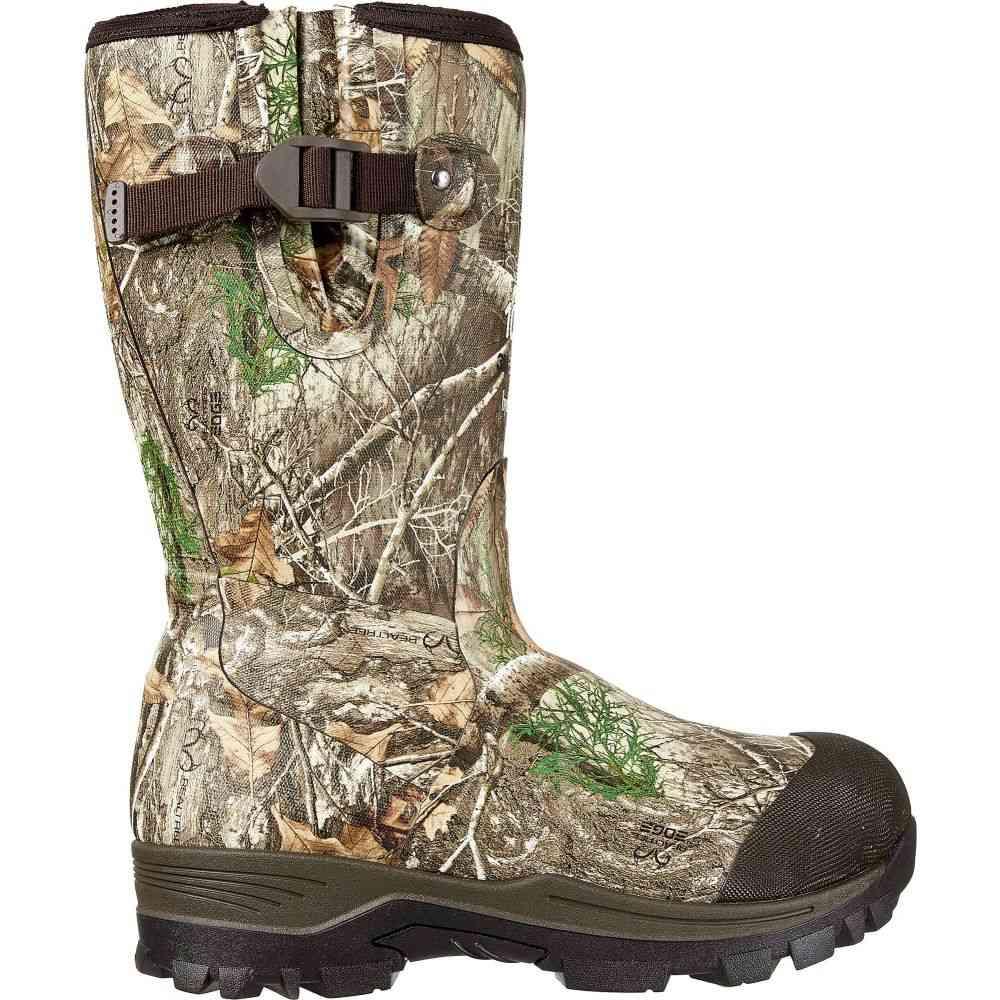 フィールドアンドストリーム Field & Stream レディース ブーツ シューズ・靴【Swamptracker 1000g RTE Rubber Hunting Boots】Realtree EDGE