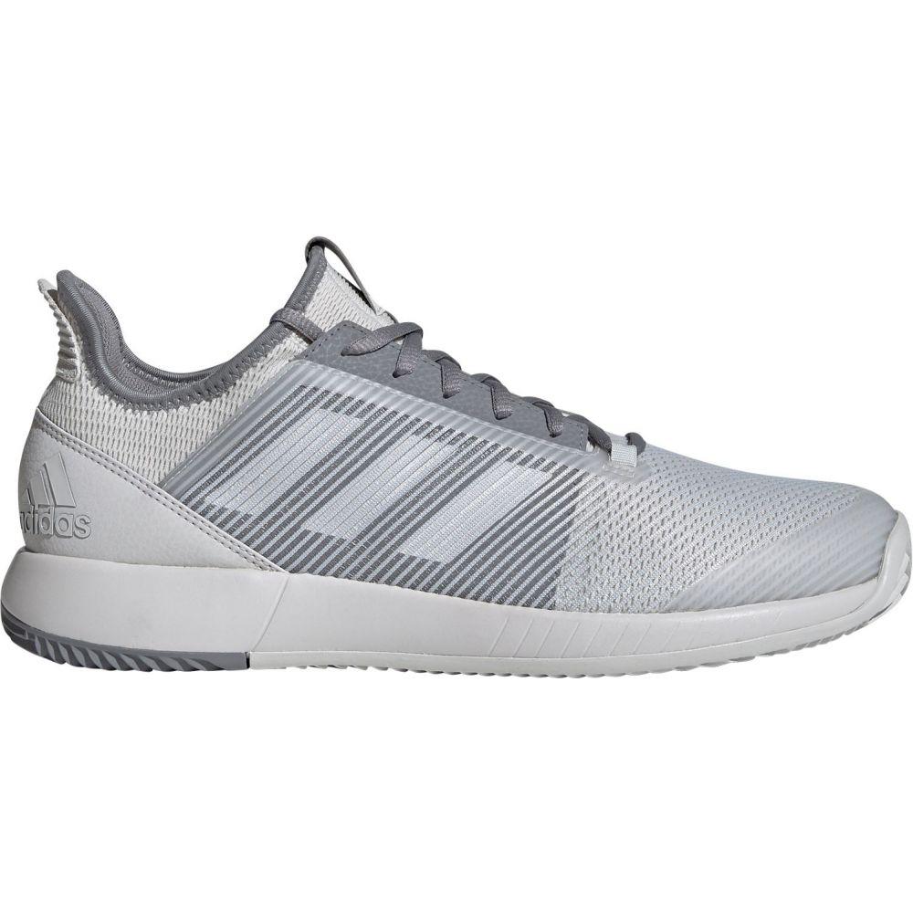 アディダス adidas メンズ テニス シューズ・靴【Defiant Bounce 2 Tennis Shoes】Grey/Grey