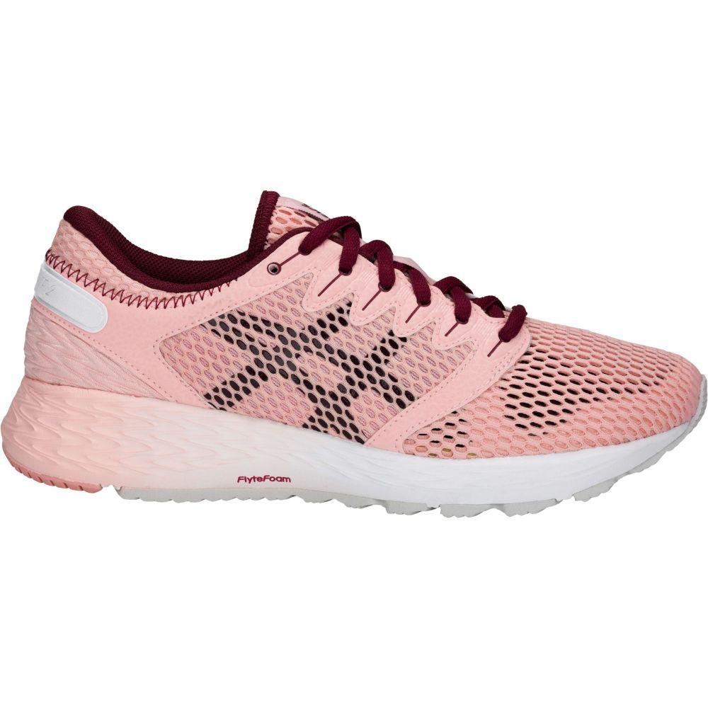 アシックス ASICS レディース ランニング・ウォーキング シューズ・靴【Roadhawk FF 2 Running Shoes】Rose/White