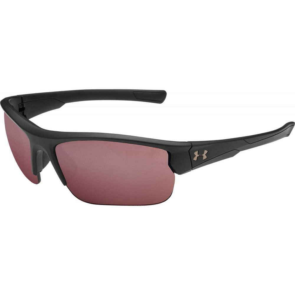 アンダーアーマー Under Armour ユニセックス スポーツサングラス 【Adult Propel Tuned Golf Sunglasses】Satin Black/Golf Lens