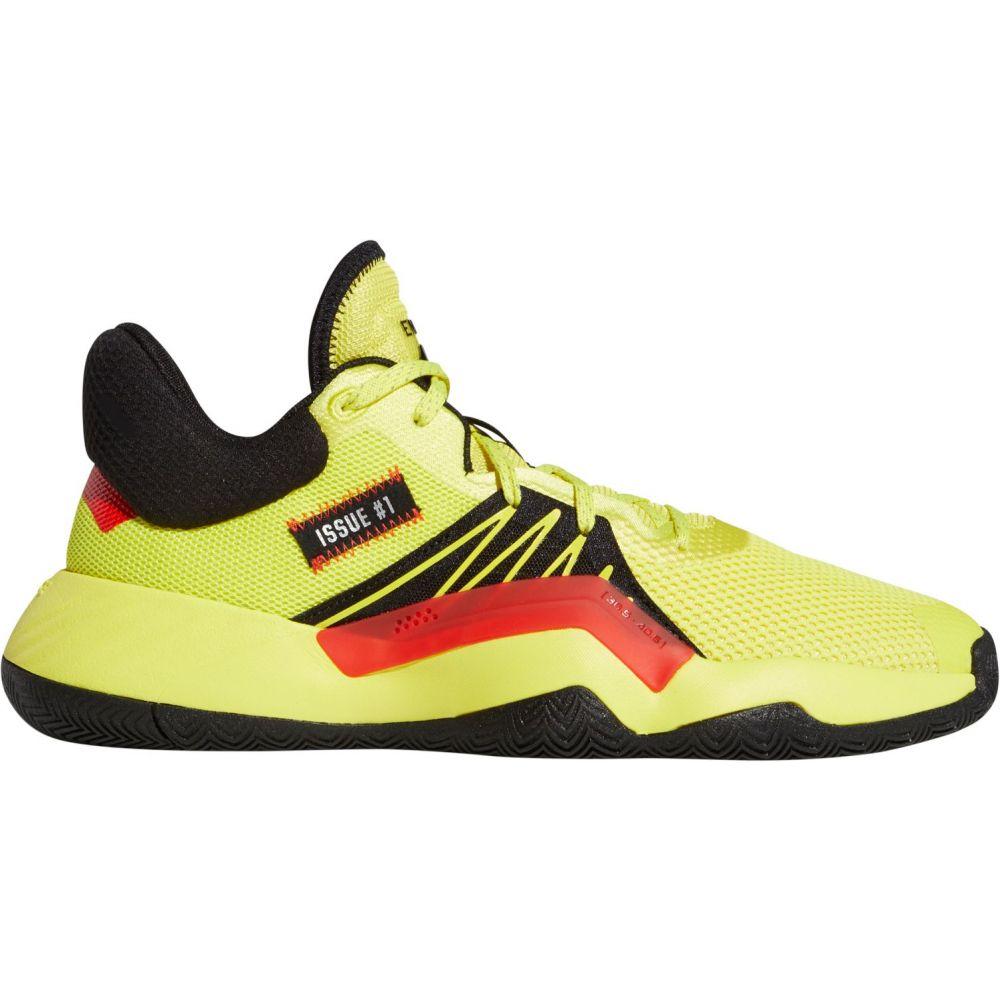 アディダス adidas メンズ バスケットボール シューズ・靴【D.O.N. Issue #1 Basketball Shoes】Yellow/Black