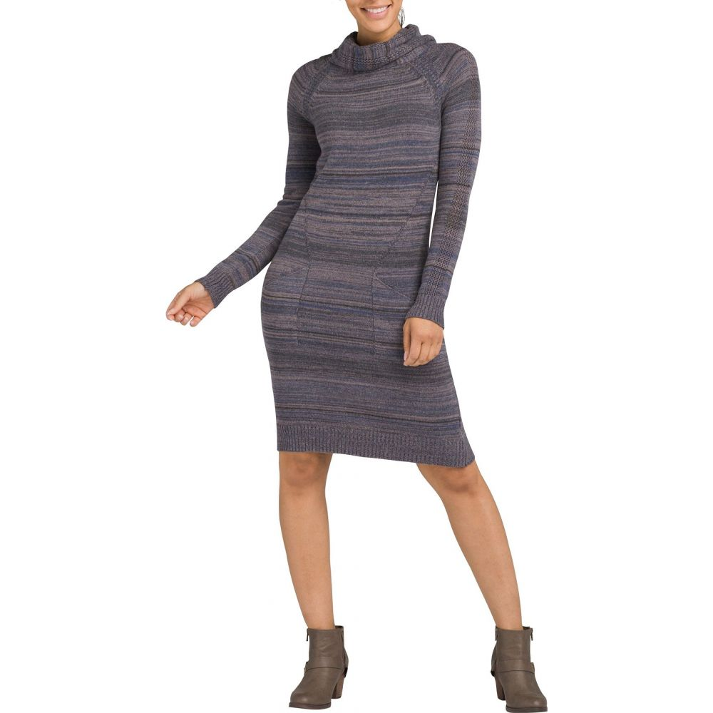 プラーナ prAna レディース ワンピース ワンピース・ドレス【Bisque Long Sleeve Dress】Midnight Dew