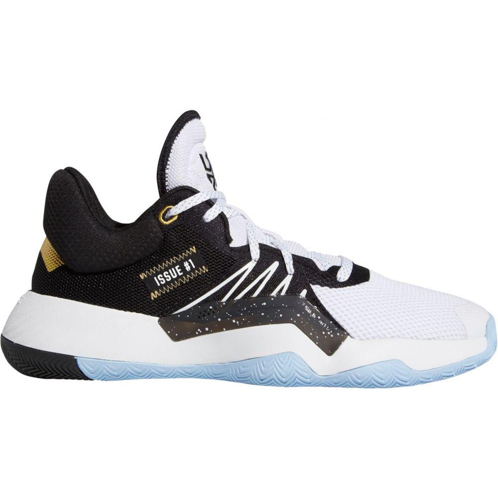 アディダス adidas メンズ バスケットボール シューズ・靴【D.O.N. Issue #1 Basketball Shoes】White/Black/Gold