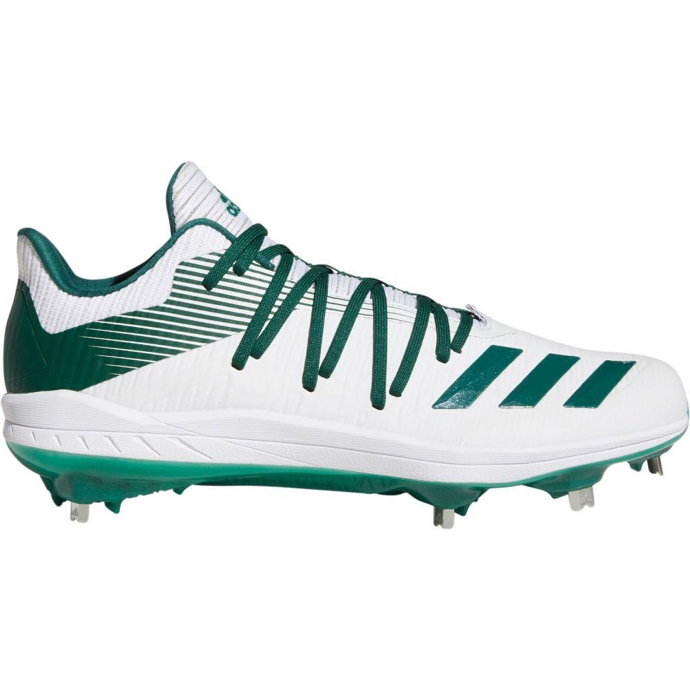 アディダス adidas メンズ 野球 スパイク シューズ・靴【adizero Afterburner 6 Metal Baseball Cleats】White/Green