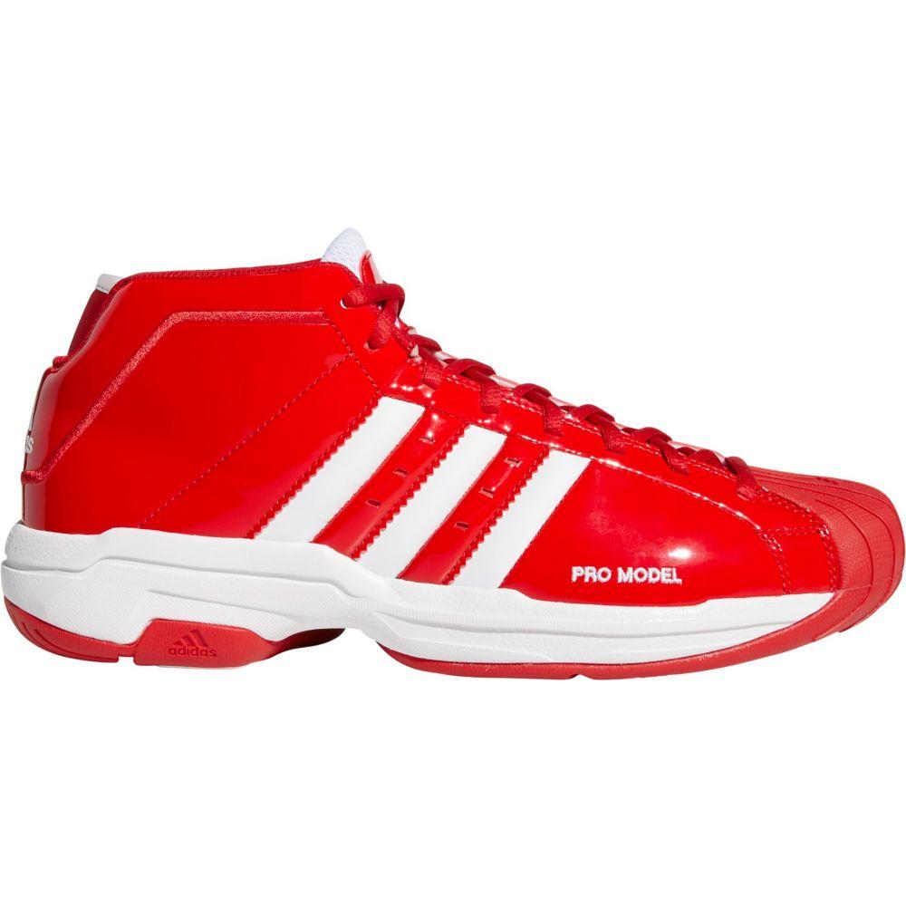 アディダス adidas メンズ バスケットボール シューズ・靴【Pro Model 2G Basketball Shoes】Scarlet/White/Scarlet