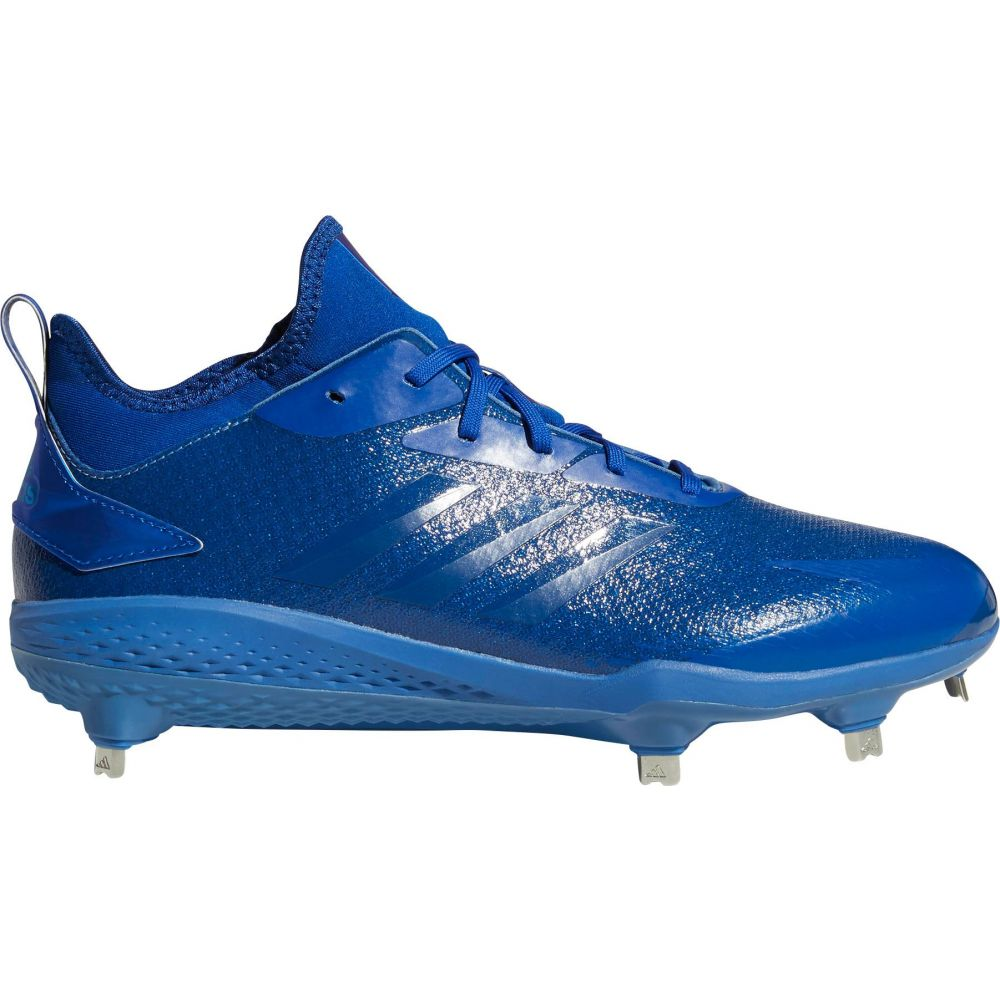 アディダス adidas メンズ 野球 スパイク シューズ・靴【adiZERO Afterburner V Dipped Metal Baseball Cleats】Blue