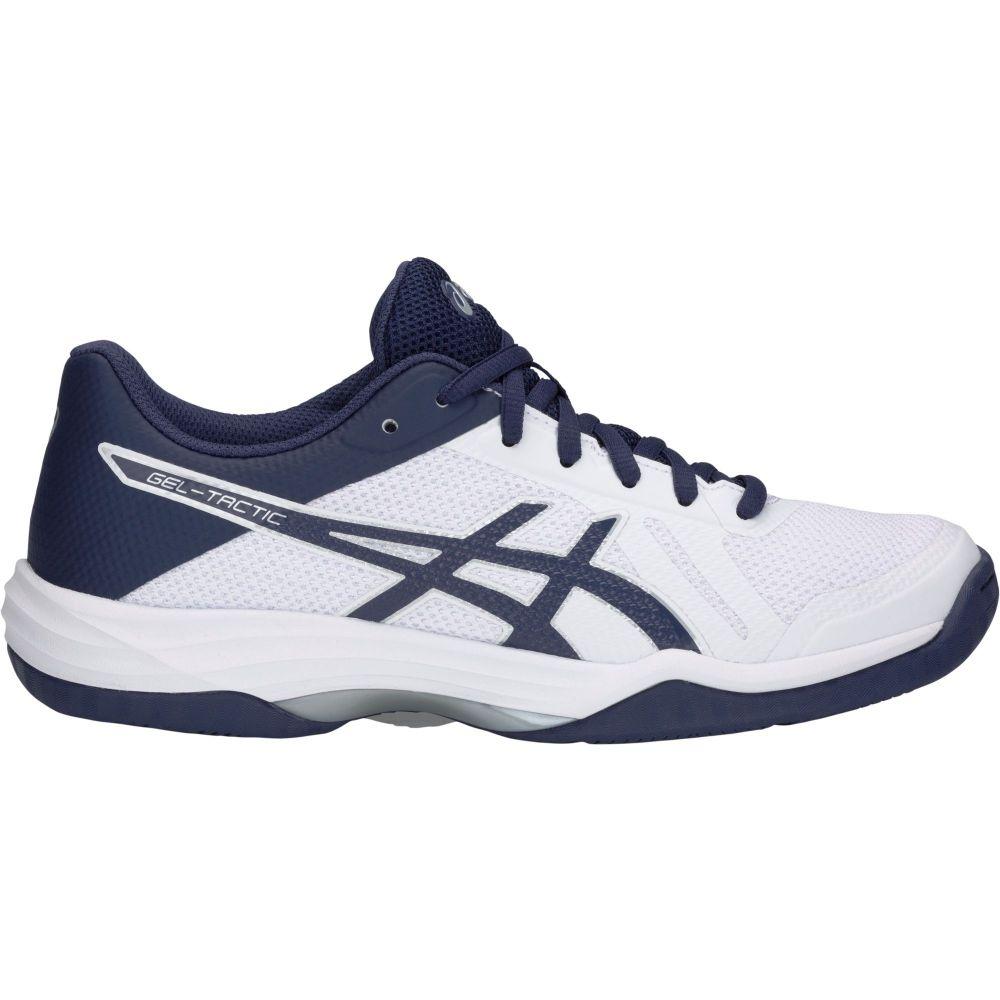 アシックス ASICS レディース バレーボール シューズ・靴【Gel-Tactic 2 Volleyball Shoes】White/Blue