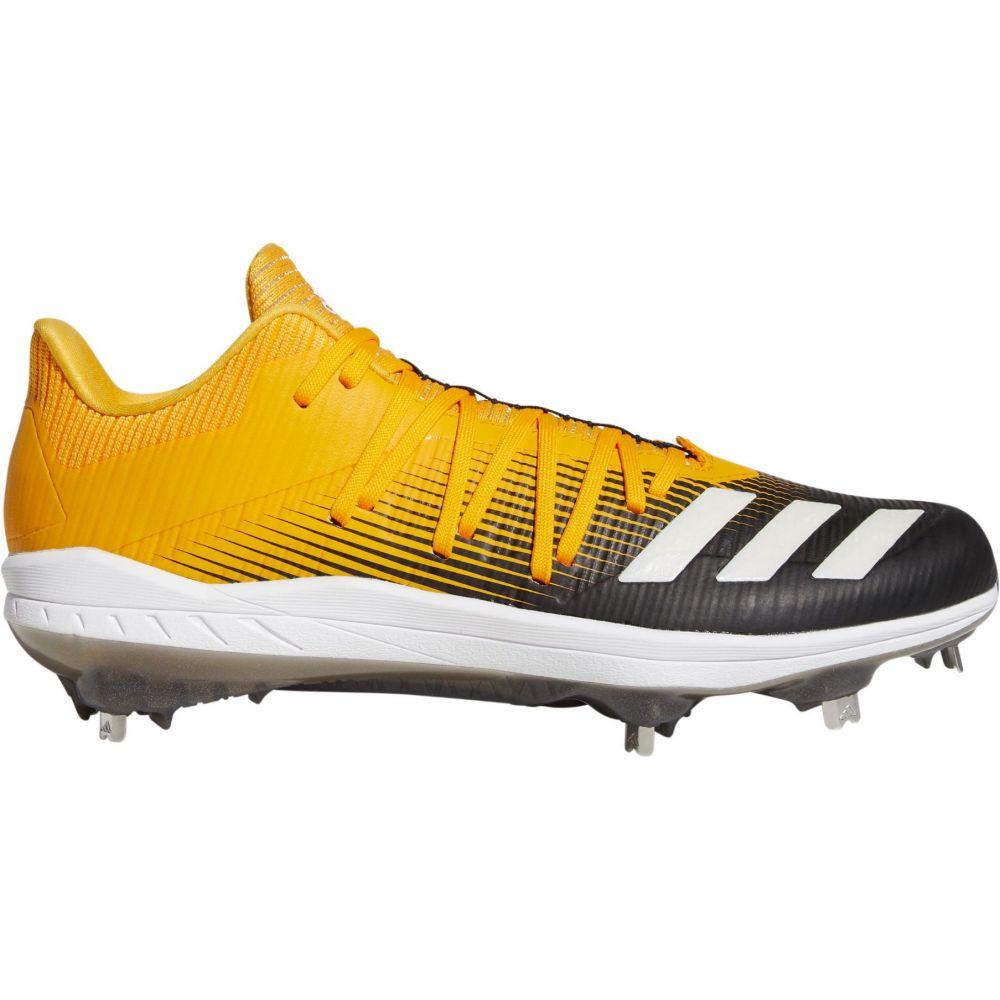 アディダス adidas メンズ 野球 スパイク シューズ・靴【adizero Afterburner 6 Metal Baseball Cleats】Yellow/Black