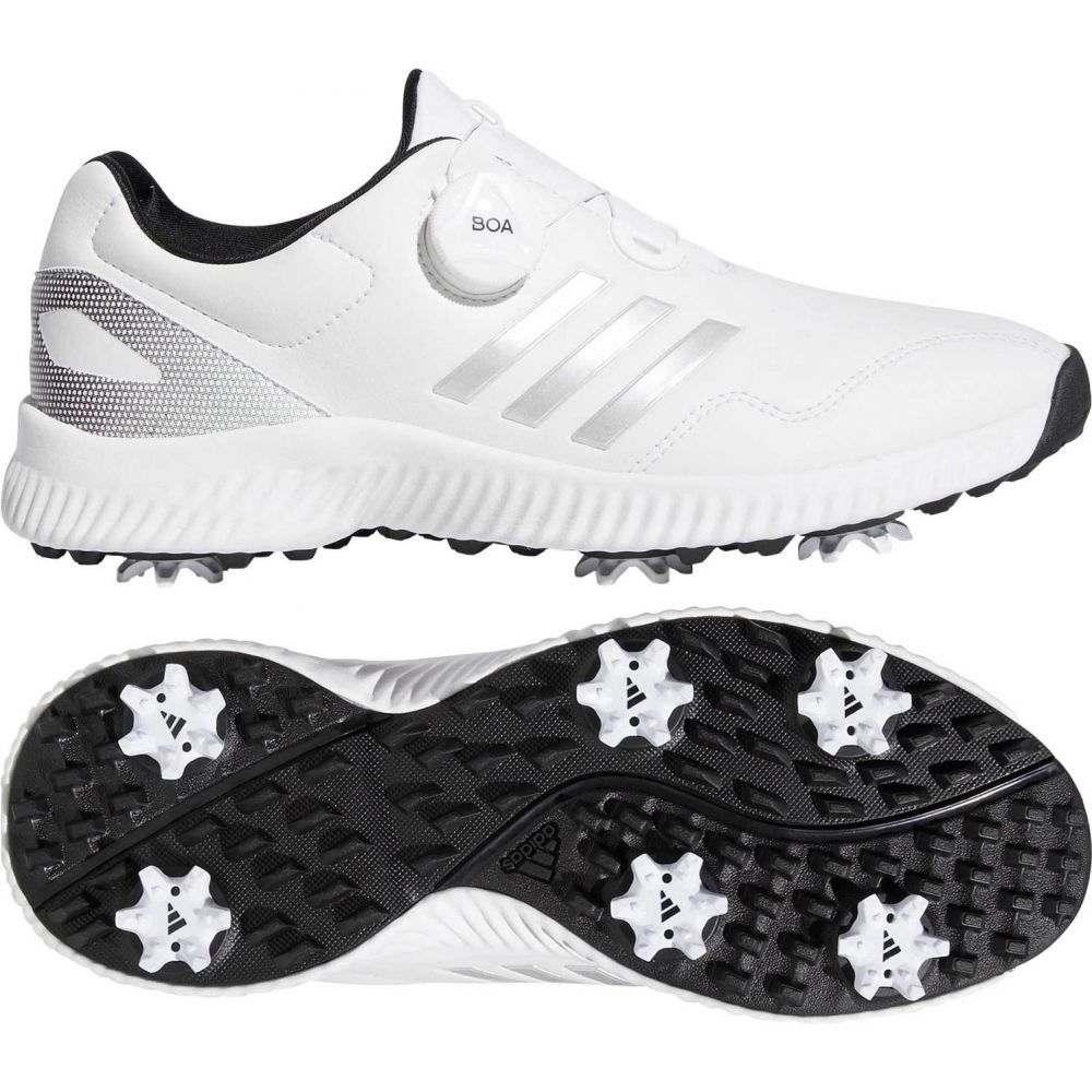 アディダス adidas レディース ゴルフ シューズ・靴【Response Bounce BOA Golf Shoes】White/Silver