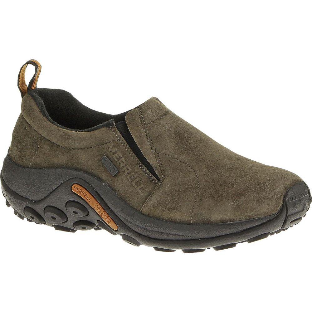 メレル Merrell レディース スリッポン・フラット シューズ・靴【Jungle Moc Waterproof Slip-On Shoes】Gunsmoke
