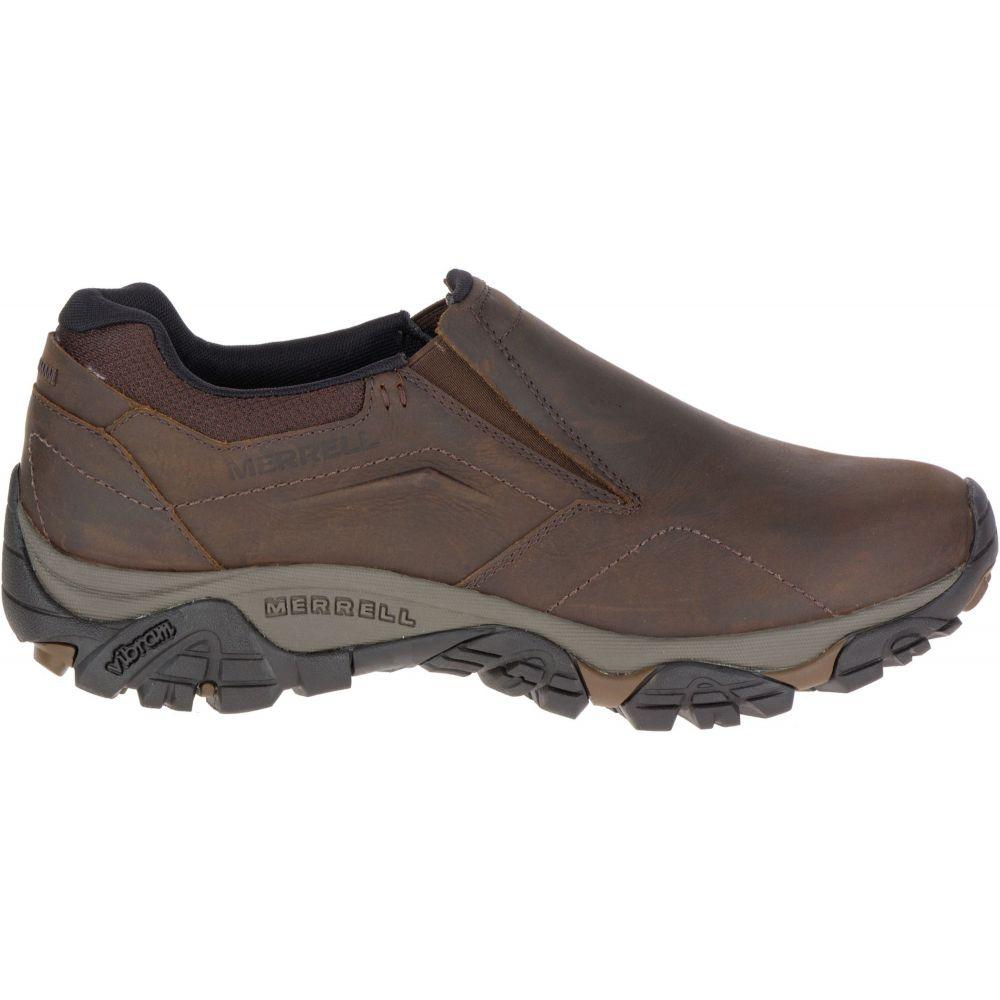 メレル Merrell メンズ スリッポン・フラット シューズ・靴【Moab Adventure Moc Casual Shoes】Dark Earth