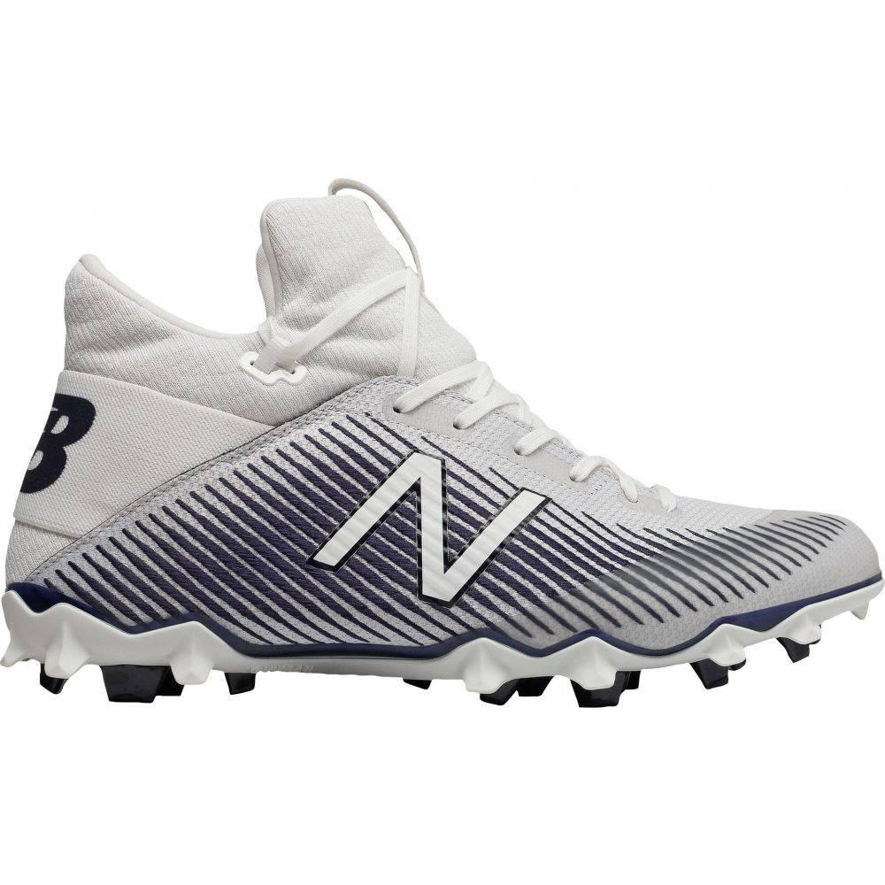 ニューバランス New Balance メンズ ラクロス スパイク シューズ・靴【Freeze LX 2.0 Lacrosse Cleats】White/Blue