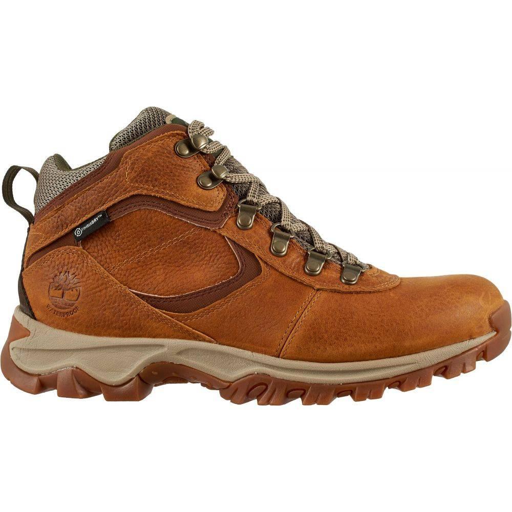 ティンバーランド Timberland メンズ ハイキング・登山 ブーツ シューズ・靴【Mt. Maddsen Mid Waterproof Hiking Boots】Brown