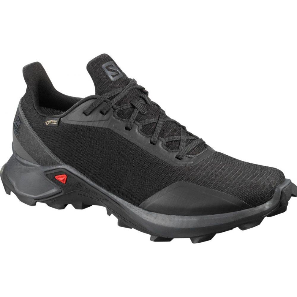 サロモン Salomon メンズ ランニング・ウォーキング シューズ・靴【Alphacross GTX Trail Running Shoes】Black/Black