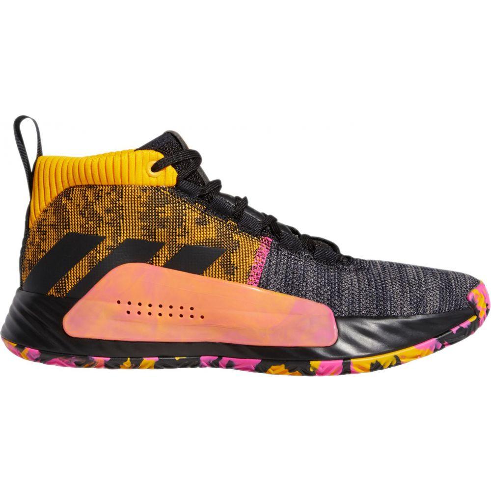 アディダス adidas メンズ バスケットボール シューズ・靴【Dame 5 Basketball Shoes】Black/Gold