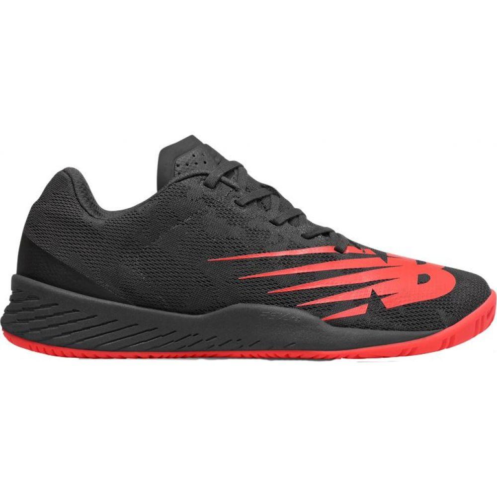 ニューバランス メンズ テニス シューズ・靴 【サイズ交換無料】 ニューバランス New Balance メンズ テニス シューズ・靴【896v3 Tennis Shoes】Black/Red
