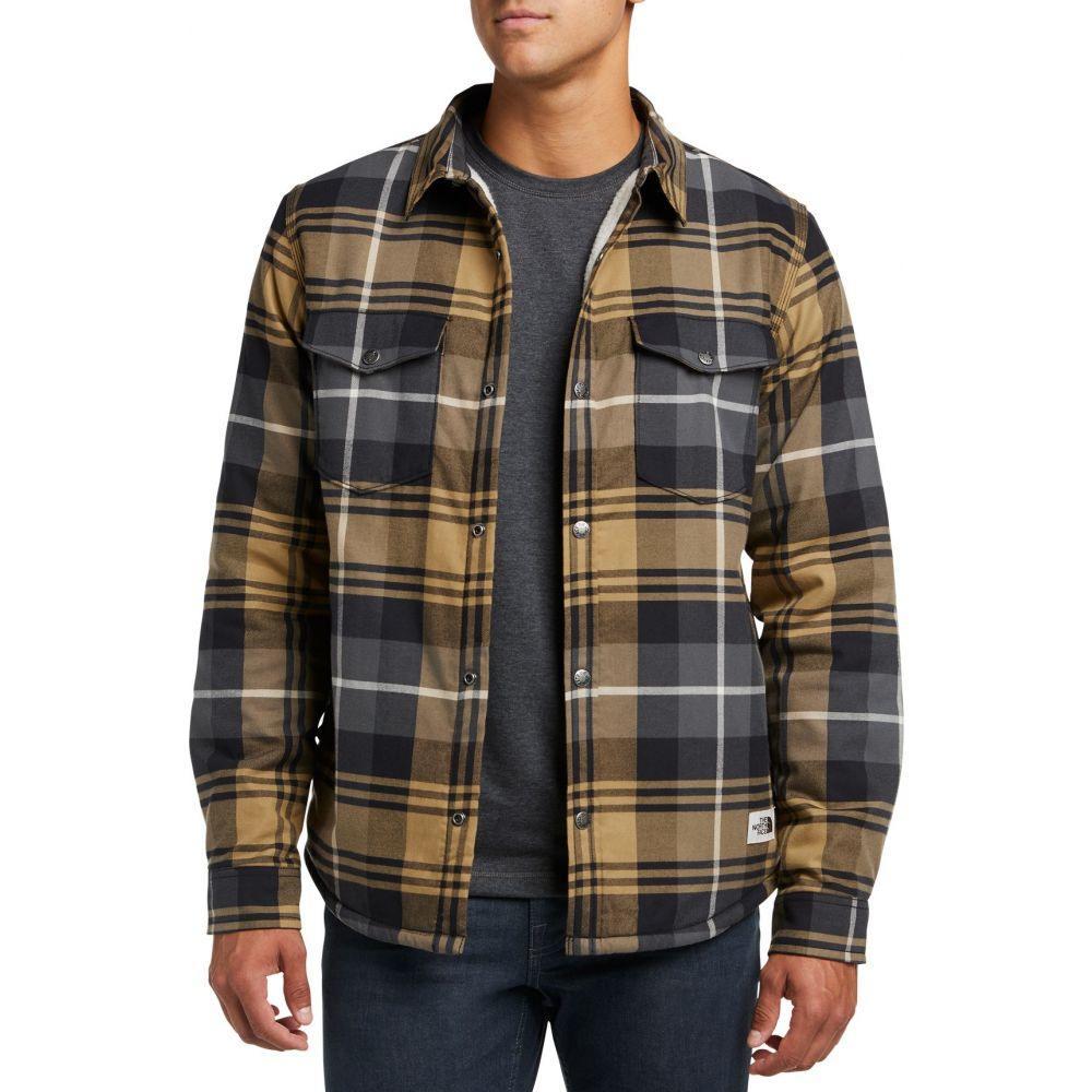 ザ ノースフェイス The North Face メンズ ジャケット シャツジャケット アウター【Campshire Shirt Jacket】British Khki Blkwtch Pld