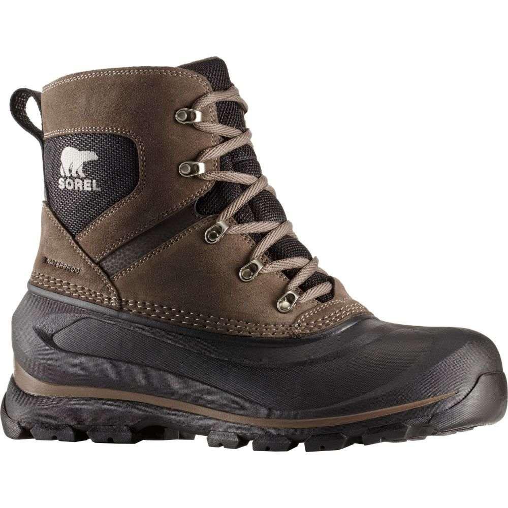 ソレル SOREL メンズ ブーツ ウインターブーツ シューズ・靴【Buxton Lace 200g Waterproof Winter Boots】Major/Black
