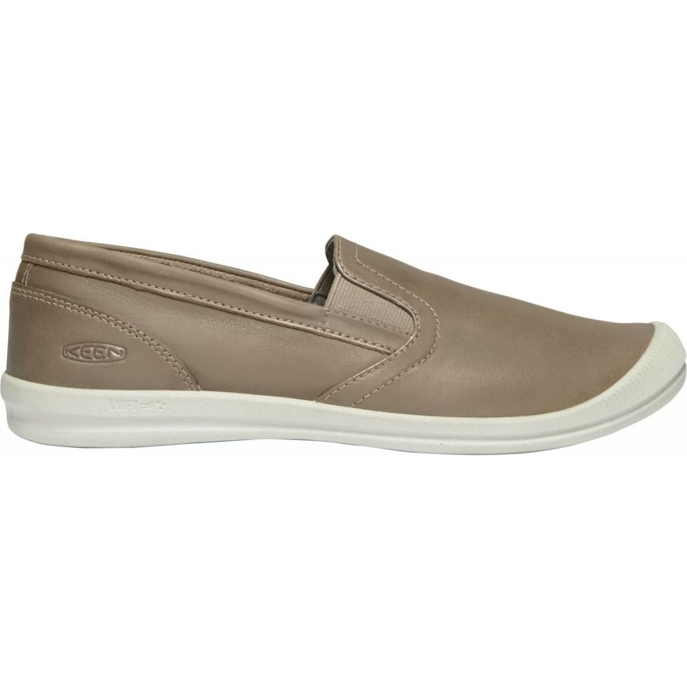 キーン Keen レディース スリッポン・フラット シューズ・靴【KEEN Lorelai Slip-On Shoes】Brindle