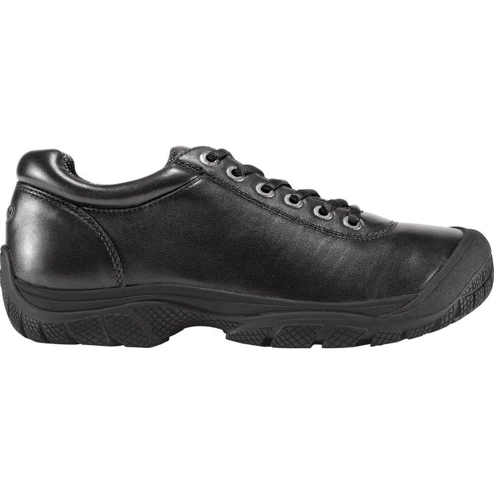 キーン Keen メンズ シューズ・靴 ドレスシューズ【KEEN PTC Dress Oxford Work Shoes】Black