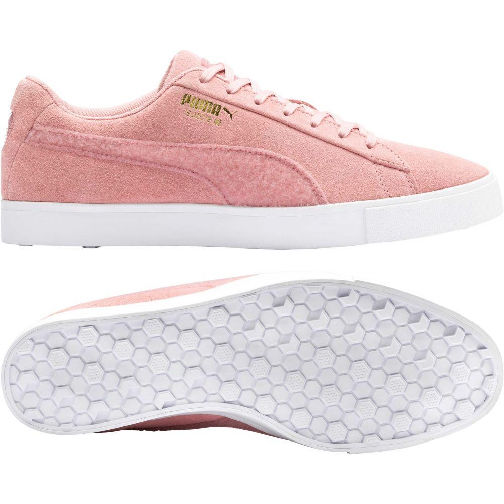 プーマ PUMA メンズ ゴルフ シューズ・靴【Limited Edition Suede G Patch Golf Shoes】Rose