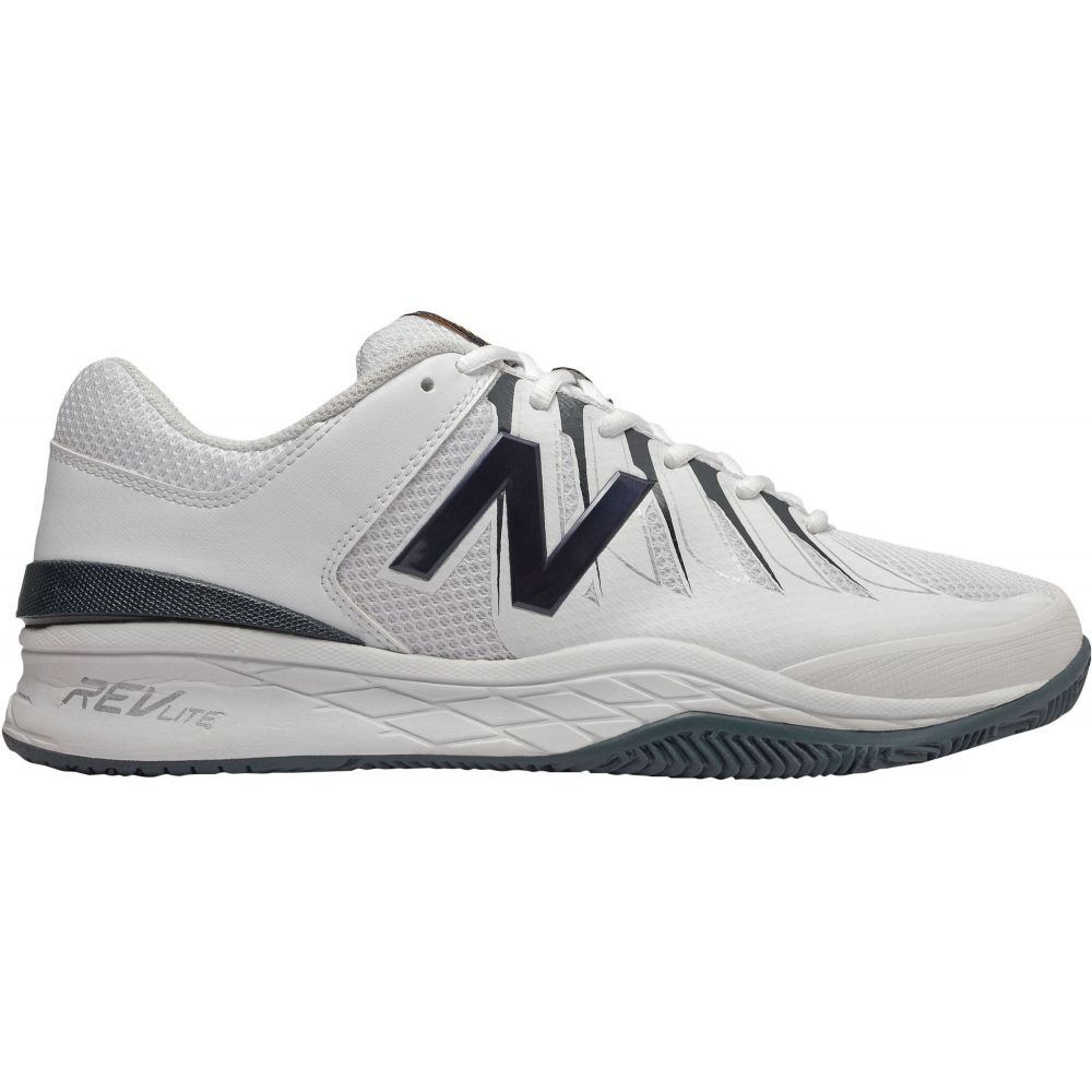 ニューバランス メンズ テニス シューズ・靴 【サイズ交換無料】 ニューバランス New Balance メンズ テニス シューズ・靴【1006 Tennis Shoes】White/Blue