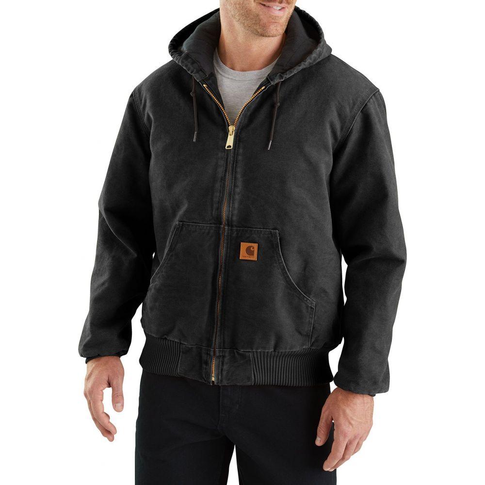 カーハート Carhartt メンズ ジャケット アウター【Sandstone Active Lined Jacket (Regular and Big & Tall)】Black