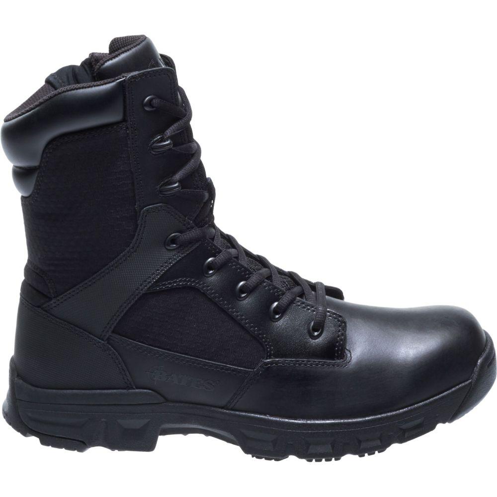 ベイツ Bates メンズ ブーツ ワークブーツ シューズ・靴【Code 6.2 8'' Side Zip Work Boots】Black