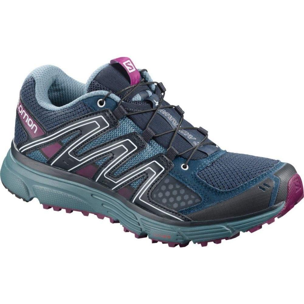 サロモン Salomon レディース ランニング・ウォーキング シューズ・靴【X-Mission 3 Trail Running Shoes】Blue/Purple