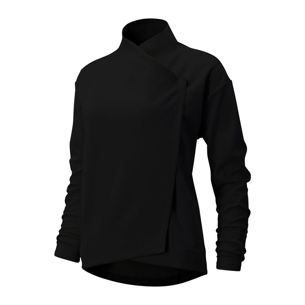 ニューバランス New Balance レディース ジャケット アウター【Balance Easy Jacket】Black