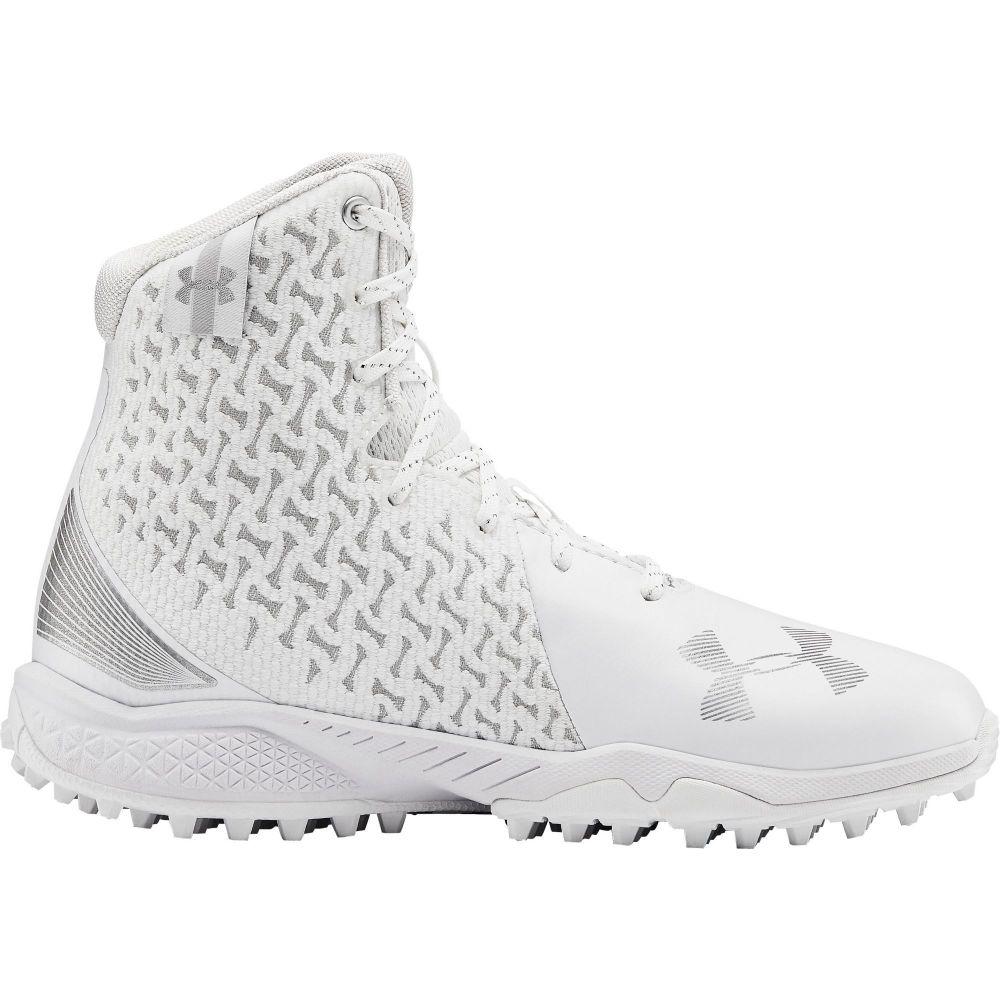 アンダーアーマー Under Armour レディース ラクロス スパイク シューズ・靴【Highlight Turf Lacrosse Cleats】White/White