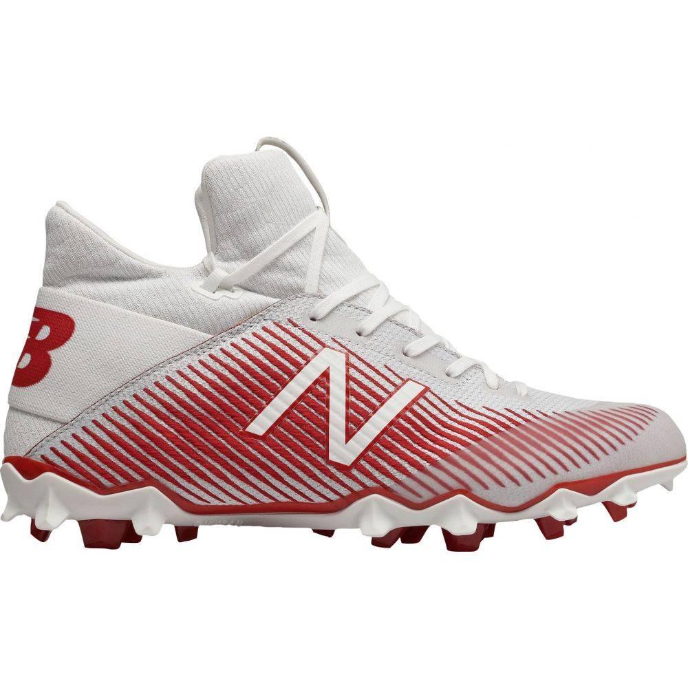 ニューバランス New Balance メンズ ラクロス スパイク シューズ・靴【Freeze LX 2.0 Lacrosse Cleats】White/Red