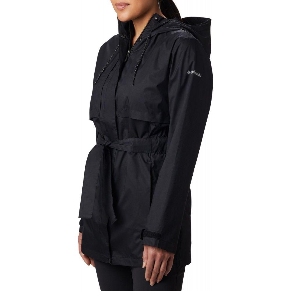 【大放出セール】 コロンビア Columbia レディース レインコート アウター【Pardon My Trench Rain Jacket】Black, ファブキューブ ba4b1ddd