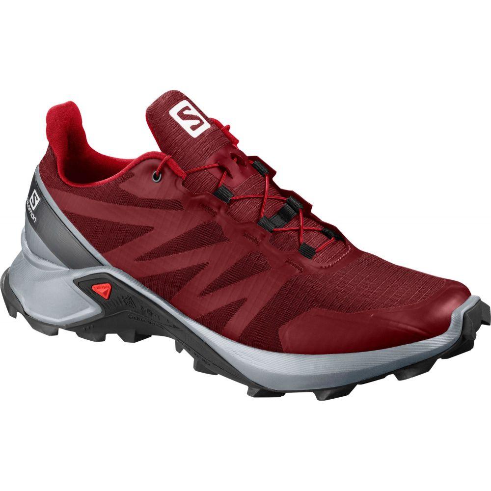 サロモン Salomon メンズ ランニング・ウォーキング シューズ・靴【Supercross Trail Running Shoes】Red/Black