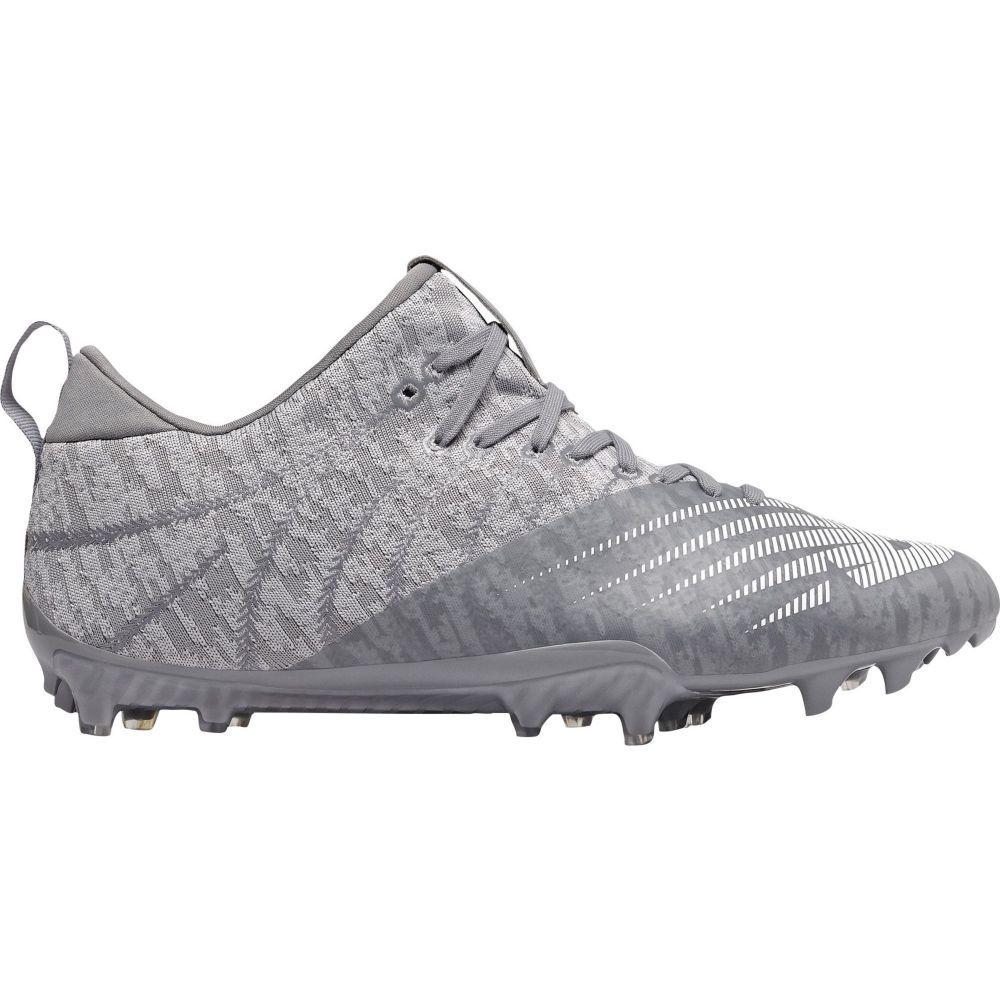 ニューバランス New Balance メンズ ラクロス スパイク シューズ・靴【BurnX 2 Lacrosse Cleats】Grey/Silver