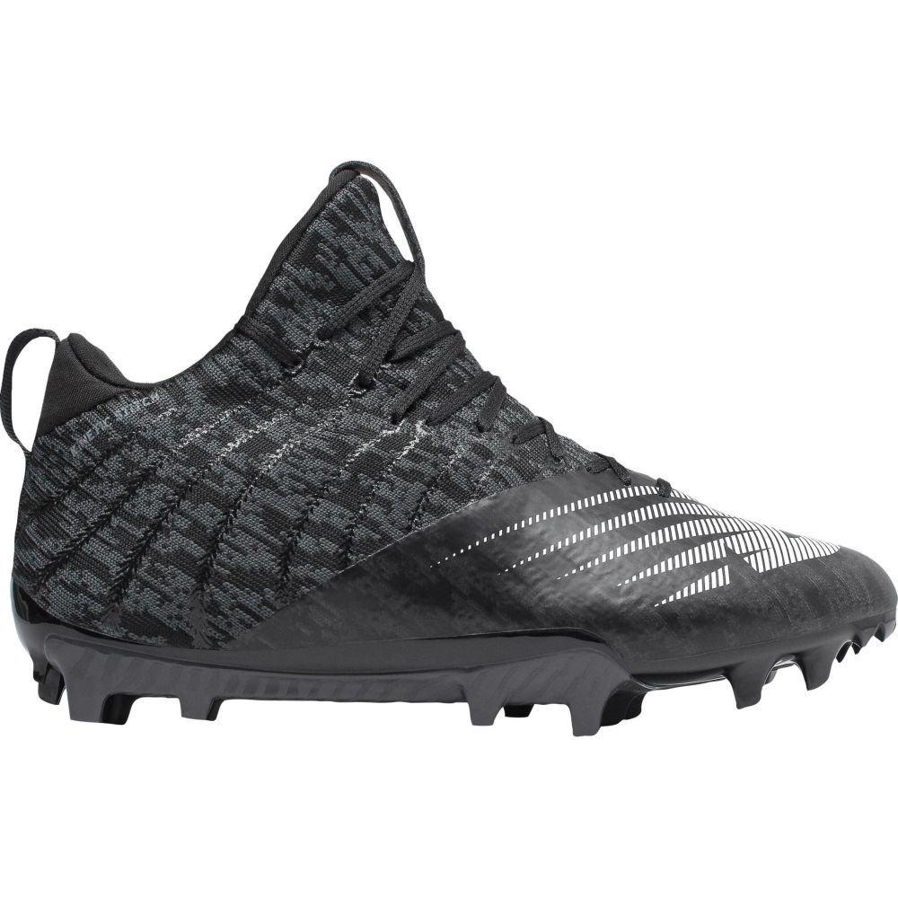 ニューバランス New Balance レディース ラクロス スパイク シューズ・靴【BurnX 2 Mid Lacrosse Cleats】Black/White