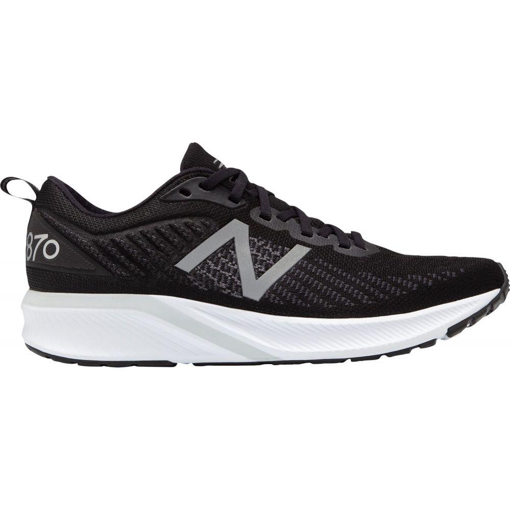 ニューバランス New Balance メンズ ランニング・ウォーキング シューズ・靴【870v5 Running Shoes】Black/White