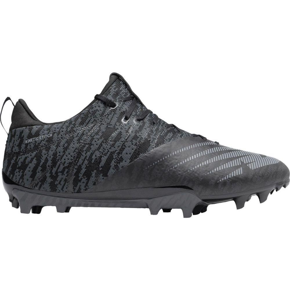 ニューバランス New Balance メンズ ラクロス スパイク シューズ・靴【BurnX 2 Lacrosse Cleats】Black/Silver