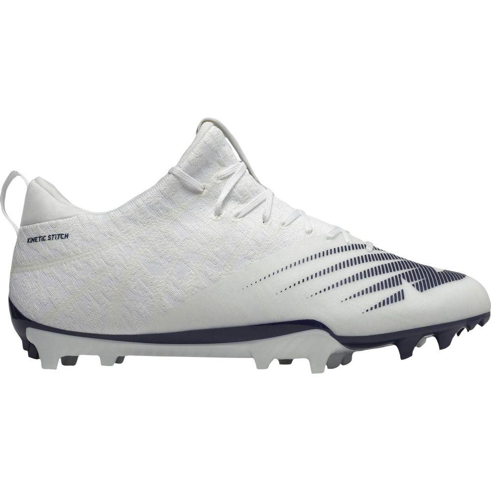 ニューバランス New Balance メンズ ラクロス スパイク シューズ・靴【BurnX 2 Lacrosse Cleats】White/Blue