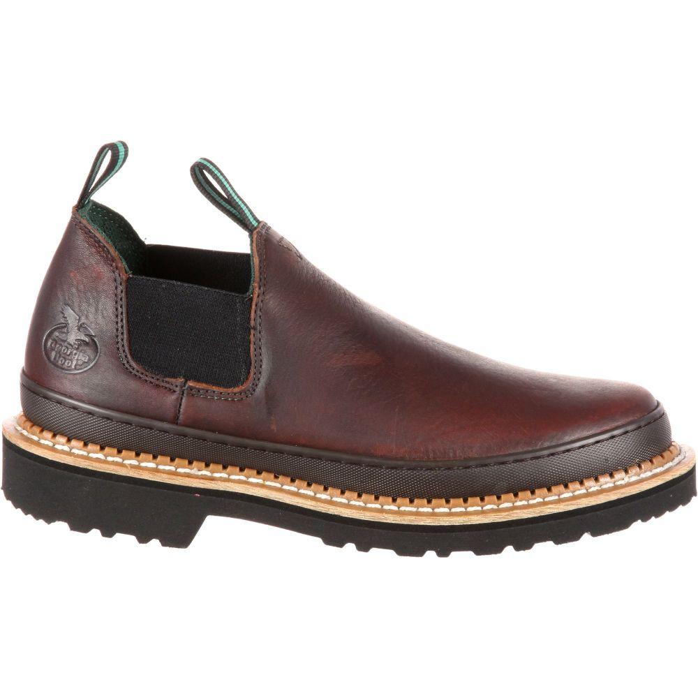 ジョージアブーツ Georgia Boots メンズ ブーツ ワークブーツ シューズ・靴【Georgia Boot Giant Romeo EH Steel Toe Work Shoes】Brown
