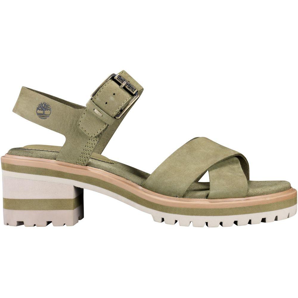 ティンバーランド Timberland レディース サンダル・ミュール シューズ・靴【Violet Marsh X-Band Sandals】Olive Nubuck