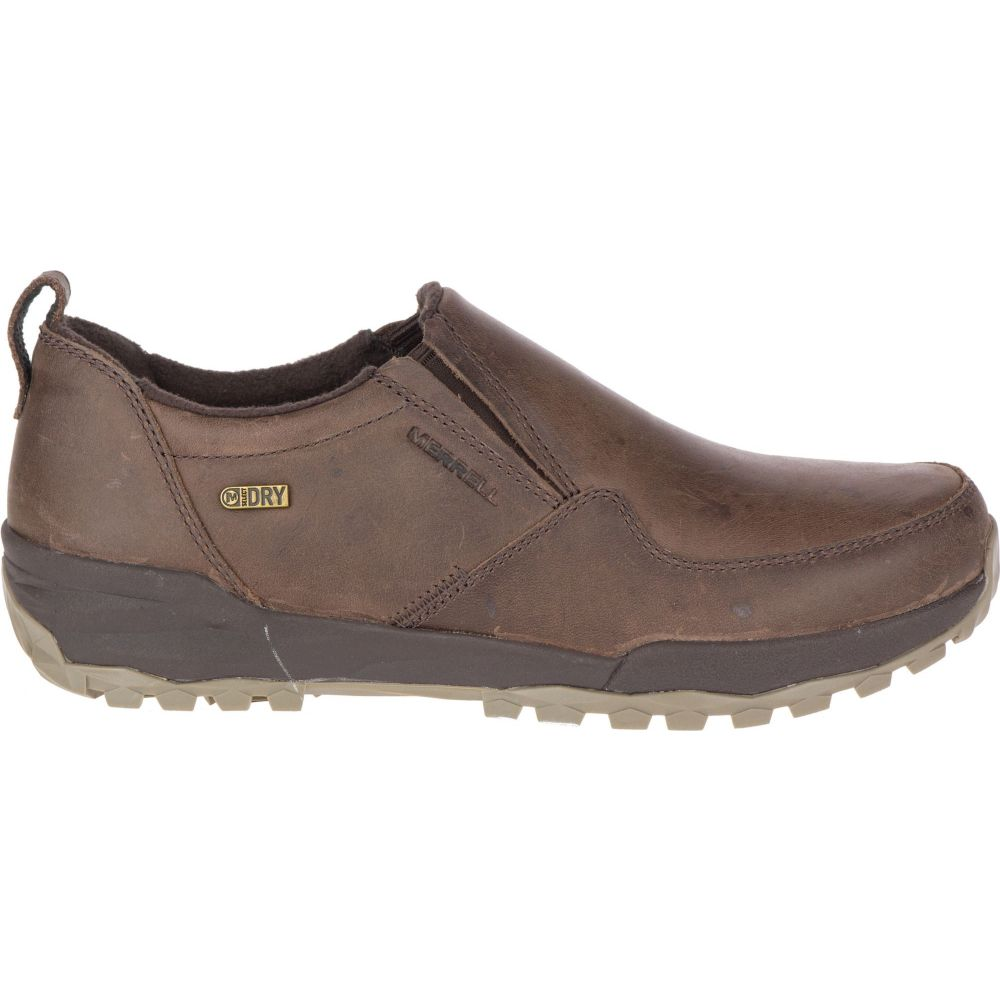 メレル Merrell レディース シューズ・靴 【Icepack Guide Moc Polar Waterproof Shoes】Espresso