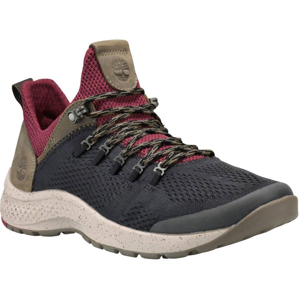 ティンバーランド Timberland メンズ シューズ・靴 【FlyRoam Trail Mixed-Media Casual Shoes】Black/Burgundy