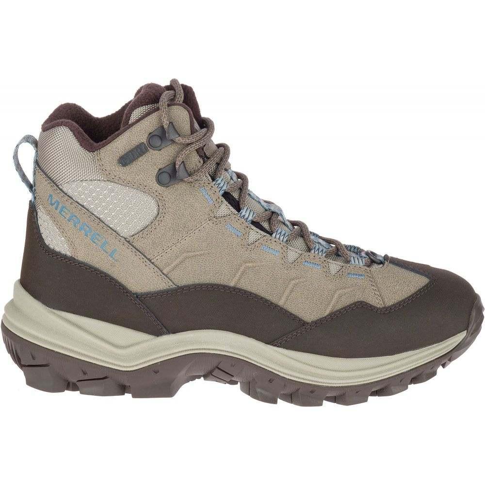 メレル Merrell レディース ハイキング・登山 ブーツ シューズ・靴【Thermo Chill Mid 200g Waterproof Hiking Boots】Brindle