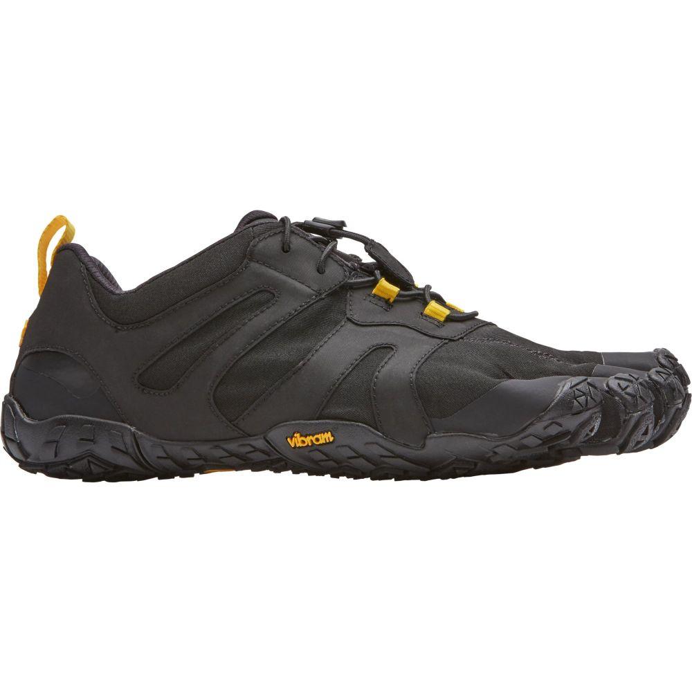 ビブラム Vibram メンズ ランニング・ウォーキング ファイブフィンガーズ シューズ・靴【FiveFingers V-Trail 2.0 Trail Running Shoes】Black/Yellow